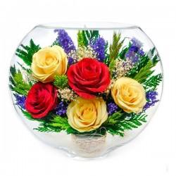 07_14 Цветы в стекле ~ вакуум*~