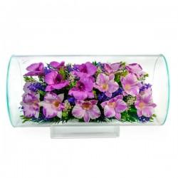 21_02 Цветы в стекле ~ вакуум*~