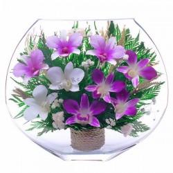26_01 Цветы в стекле ~ вакуум*~