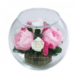 40.221 Цветы в стекле ~ вакуум*~