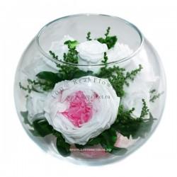 40.245 Цветы в стекле ~ вакуум*~