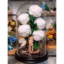 40.665 Цветы в стекле ~ вакуум*~