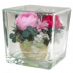 46.858 Цветы в стекле ~ вакуум*~