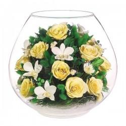 48.494 Цветы в стекле ~ вакуум*~