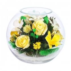 37.160 Цветы в стекле ~ вакуум*~