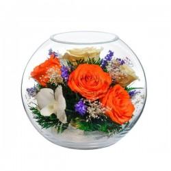 42.881 Цветы в стекле ~ вакуум*~
