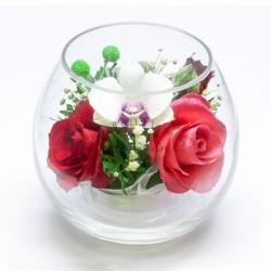 42.935 Цветы в стекле ~ вакуум*~