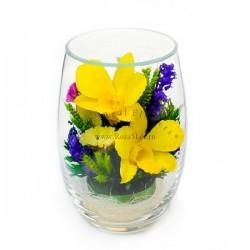 44.755 Цветы в стекле ~ вакуум*~
