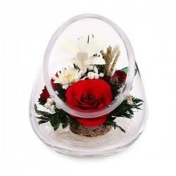 30.918 Цветы в стекле ~ вакуум*~