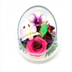 30.949 Цветы в стекле ~ вакуум*~