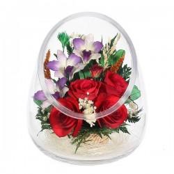 33.933 Цветы в стекле ~ вакуум*~