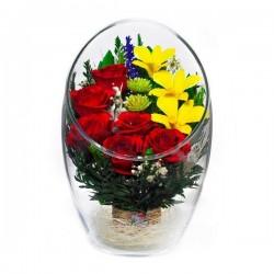 37.627 Цветы в стекле ~ вакуум*~