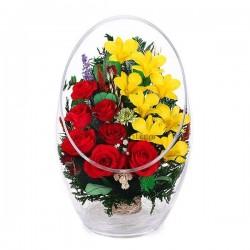 38.273 Цветы в стекле ~ вакуум*~