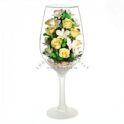 41.341 Цветы в стекле ~ вакуум*~
