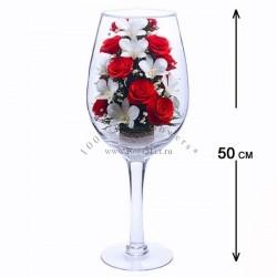 41.563 Цветы в стекле ~ вакуум*~