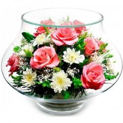 03_22 Цветы в стекле ~ вакуум*~